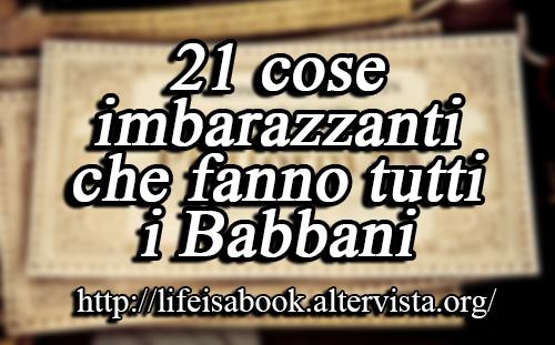 21 cose imbarazzanti che fanno tutti i Babbani