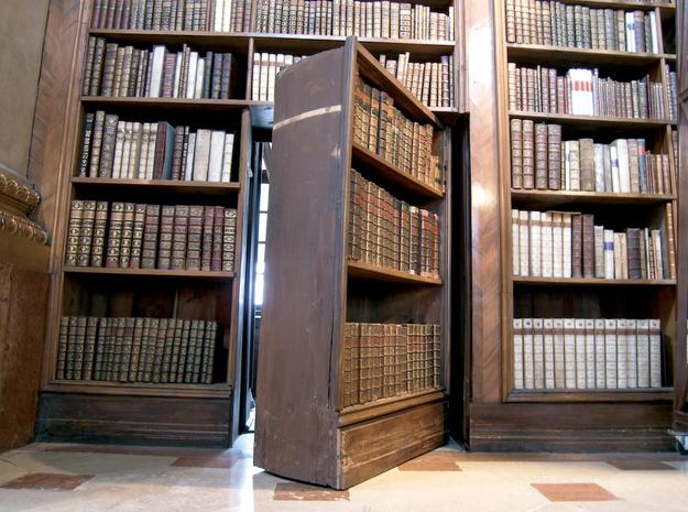 15 stanze nascoste da passaggi segreti life is a book - Costruire un mobiletto ...