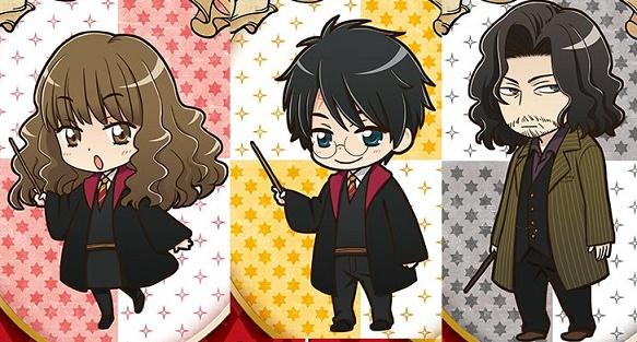 I Personaggi Di Harry Potter In Versione Anime Life Is A Book