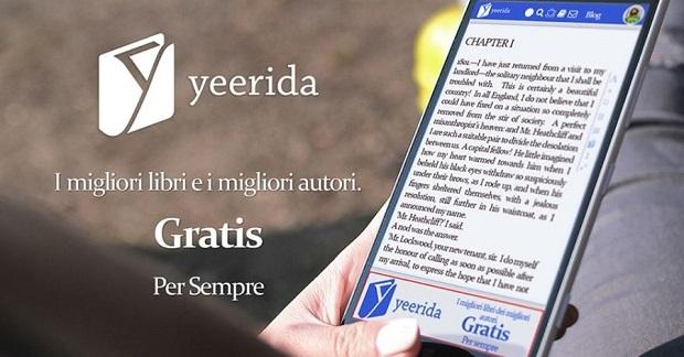 Yeerida il social network che ti fa leggere i libri for Libri ultime uscite