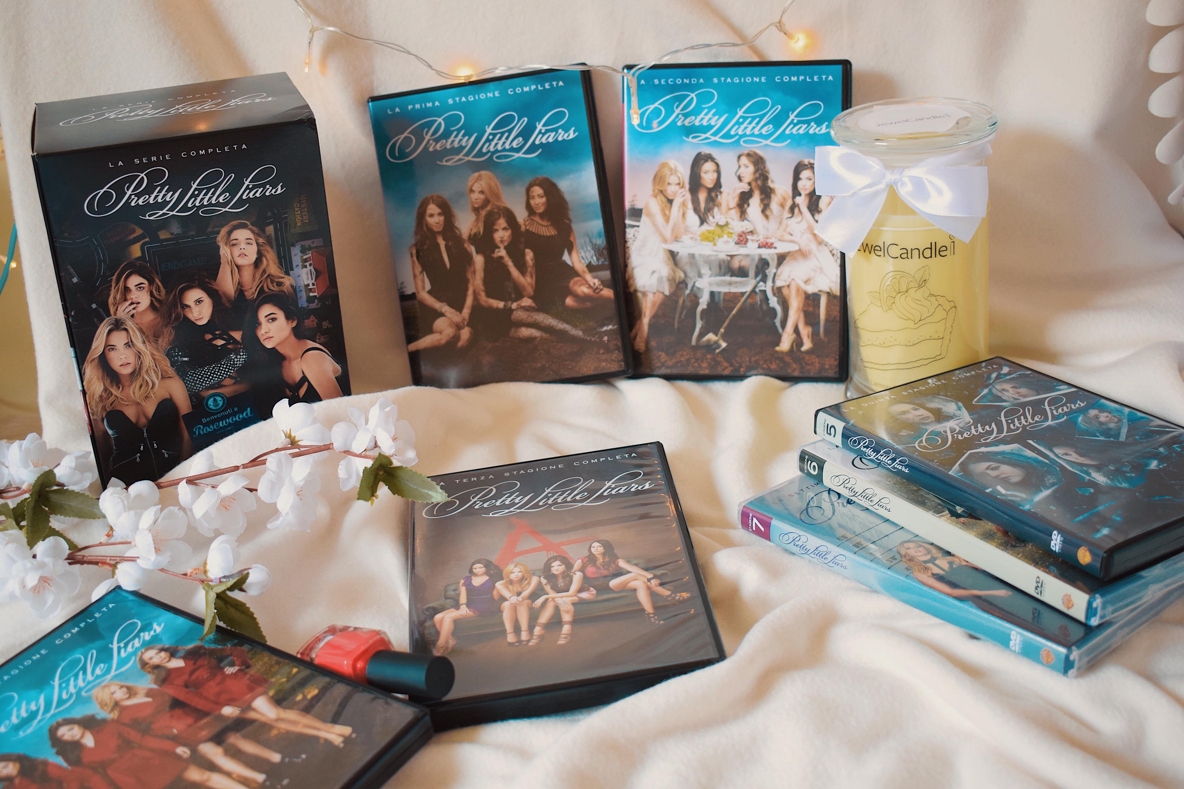 Pretty Little Liars: la collezione completa in un bellissimo cofanetto